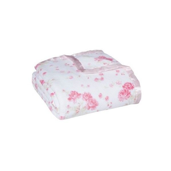 Simply Shabby Chic Blanket Liked On Polyvore Featuring Home Bed Bath Bedding