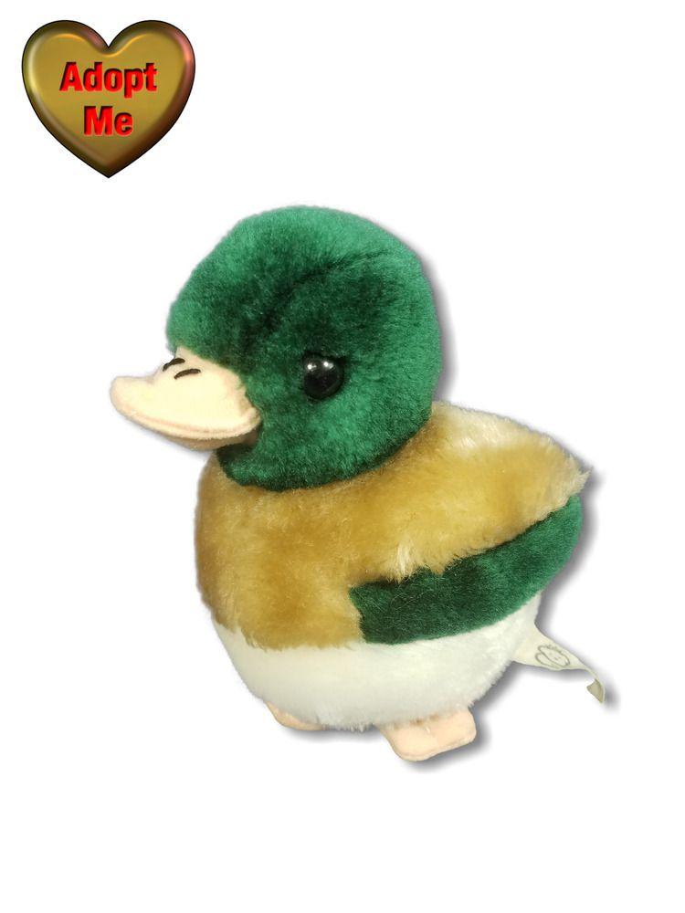 Princess Soft Toys Mallard Duck Bird Stuffed Plush Animal 6in