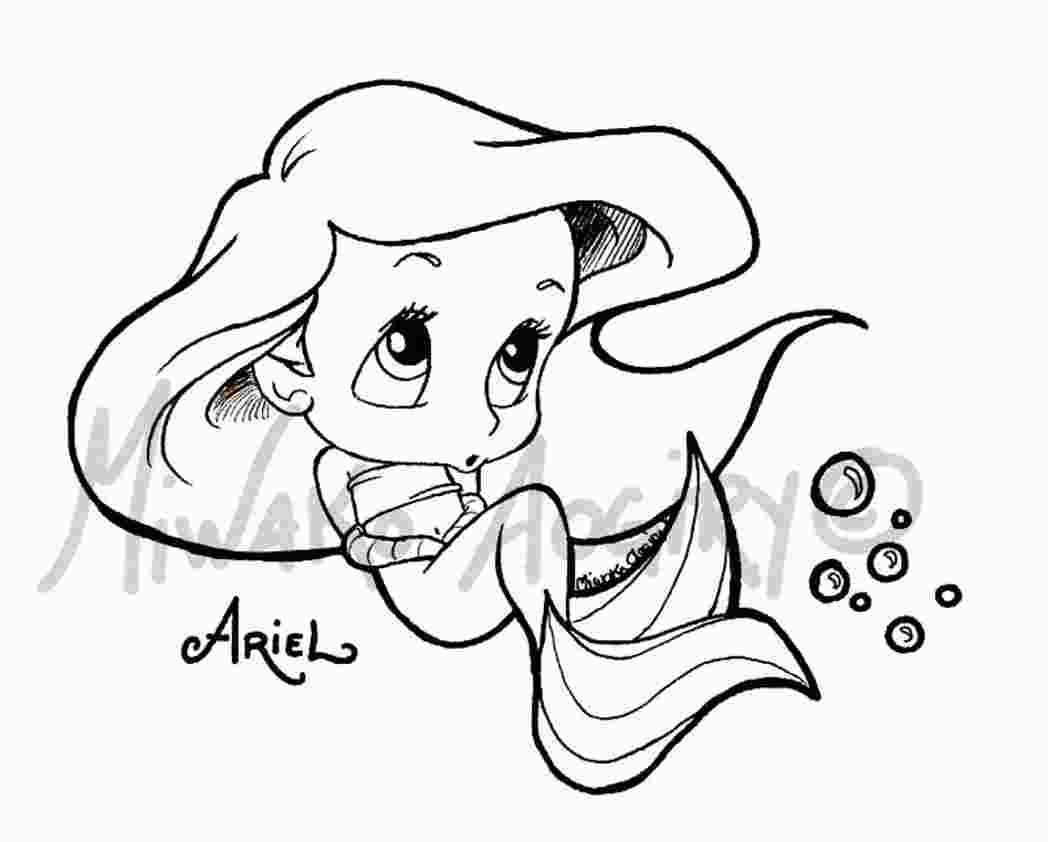 Baby Ariel Coloring Sheets Animal Coloring Pages Fox Coloring Page Baby Disney Characters