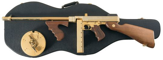 Thompson M1927A1 submachine gun Manufactured by Auto