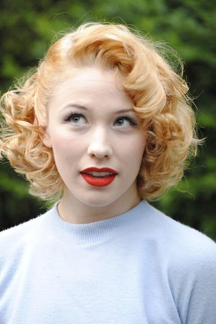 The Fiercest Lilliputian Vintage Curly Hair Retro