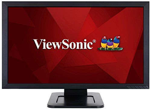 Viewsonic Td2421 24 1080p Dualpoint Optical Touch Screen Monitor Hdmi Dvi Best Value Buy On Amazon Electroncsdeals Monitor Hdmi Touch Screen