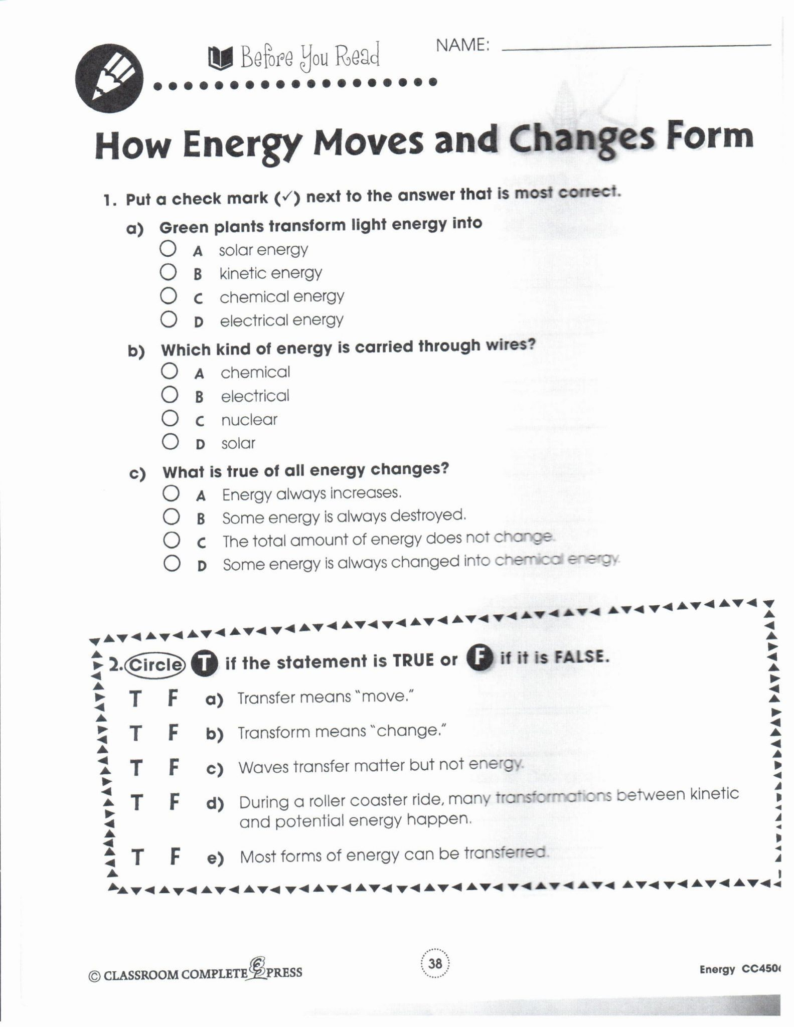 Functionalnew Kinetic And Potential Energy Worksheet Answers Kineticand Check More At Https Chemistry Worksheets Potential Energy Work Energy And Power