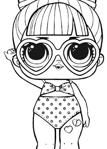 spf qt series 3 lol surprise doll coloring page stamps