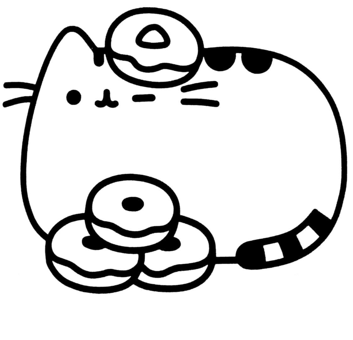 18 Coloring Page Pusheen Pusheen Coloring Pages Cat Coloring Page Cute Coloring Pages