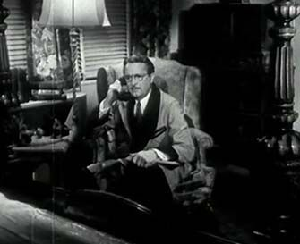 0 Bryant Washburn on the phone in prison mutiny 1943