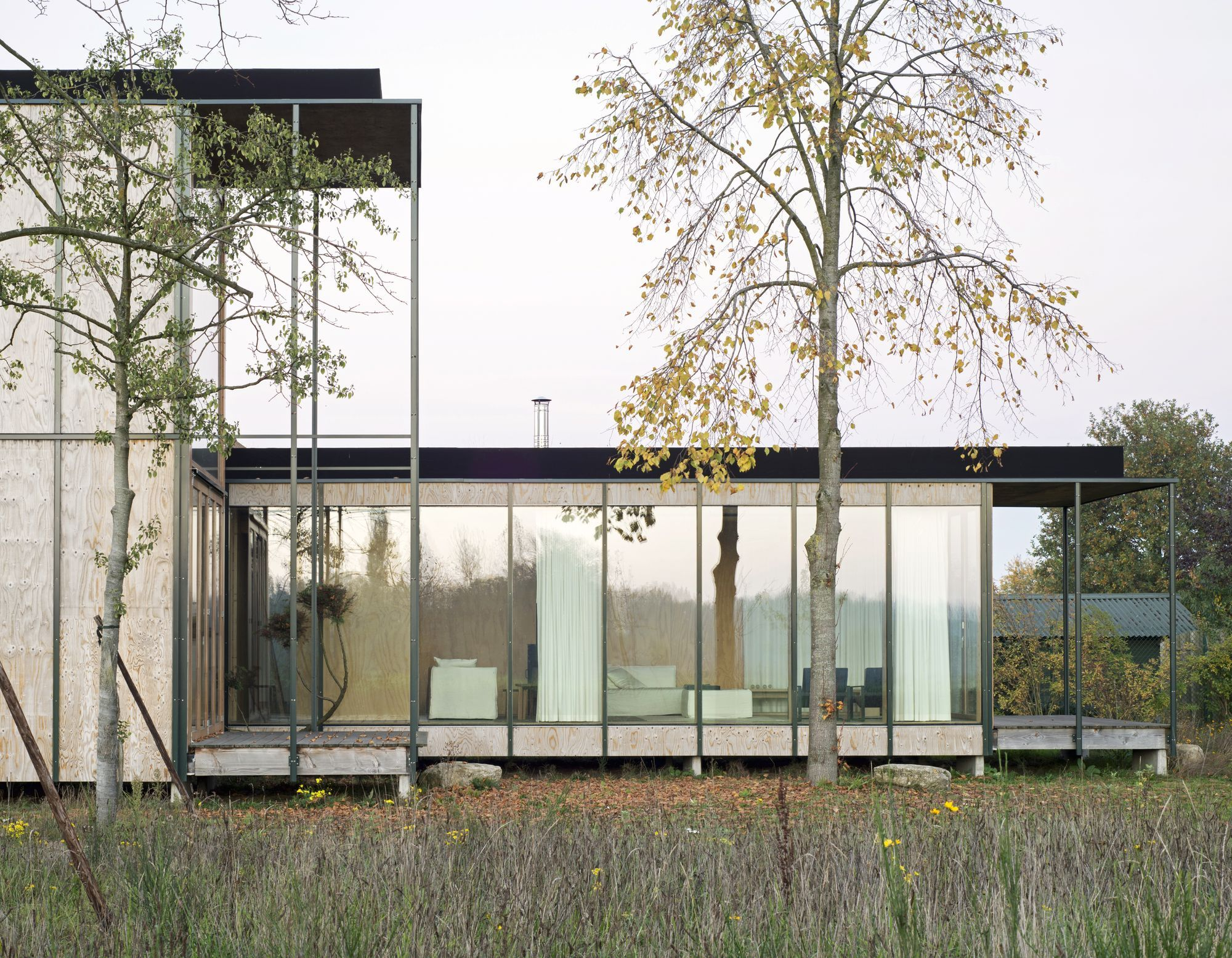 Gafpa . weekend house . wachtebeke 1 modern architecture
