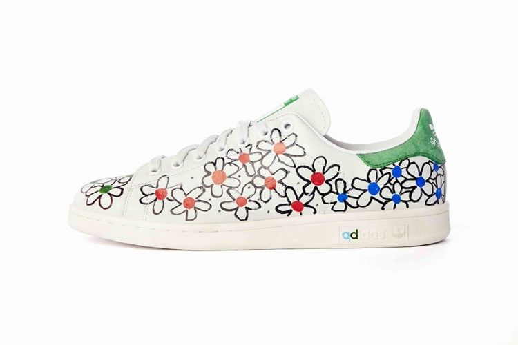adidas Stan Smiths customisées par Pharrell Williams | colette