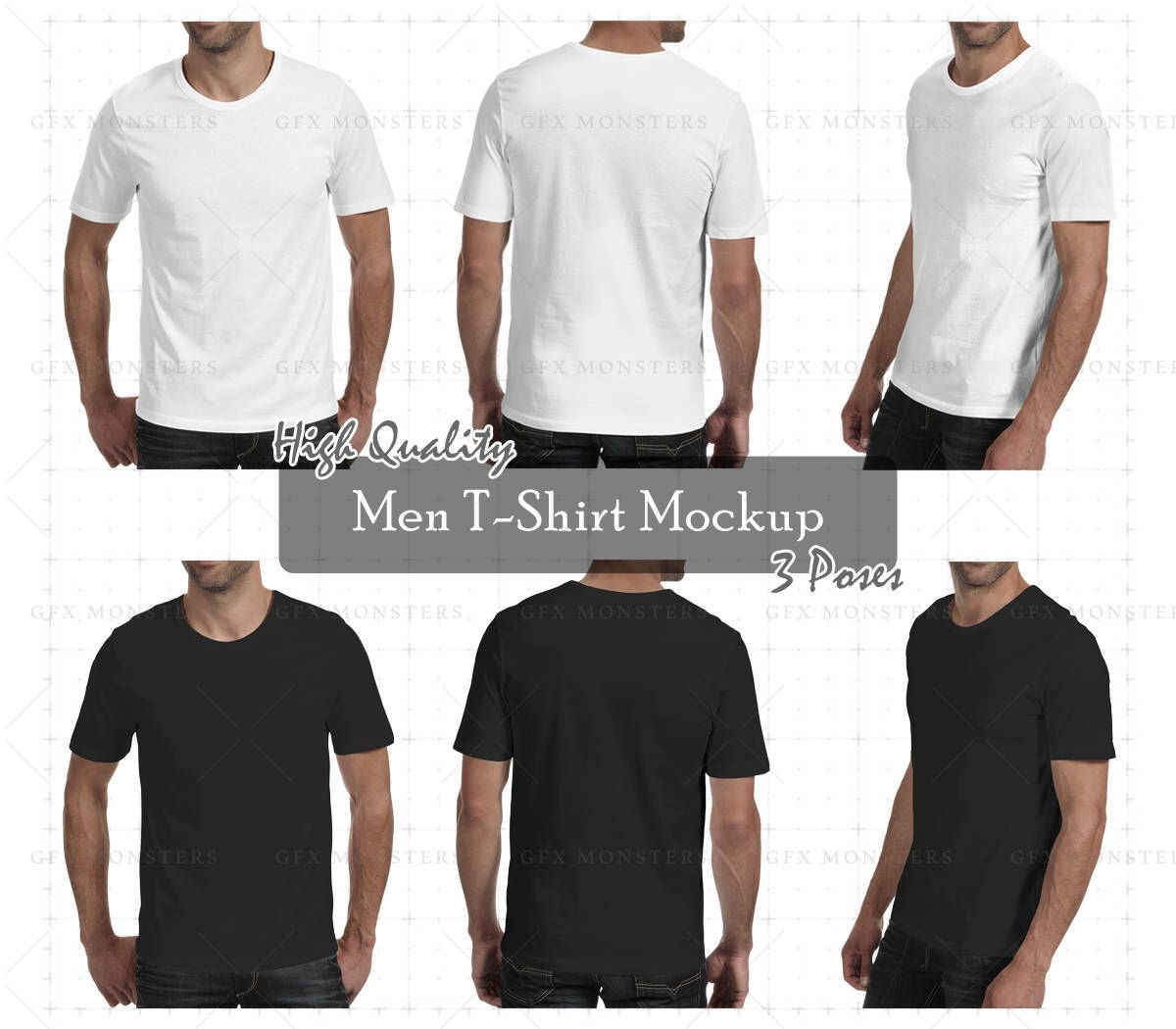 Download Men T Shirt Mockup Psd Front Back Perspective Png Psd Apparel Mock Up High Resolution Mock Up Instant Download Kaos Ide Kostum Desain Pakaian