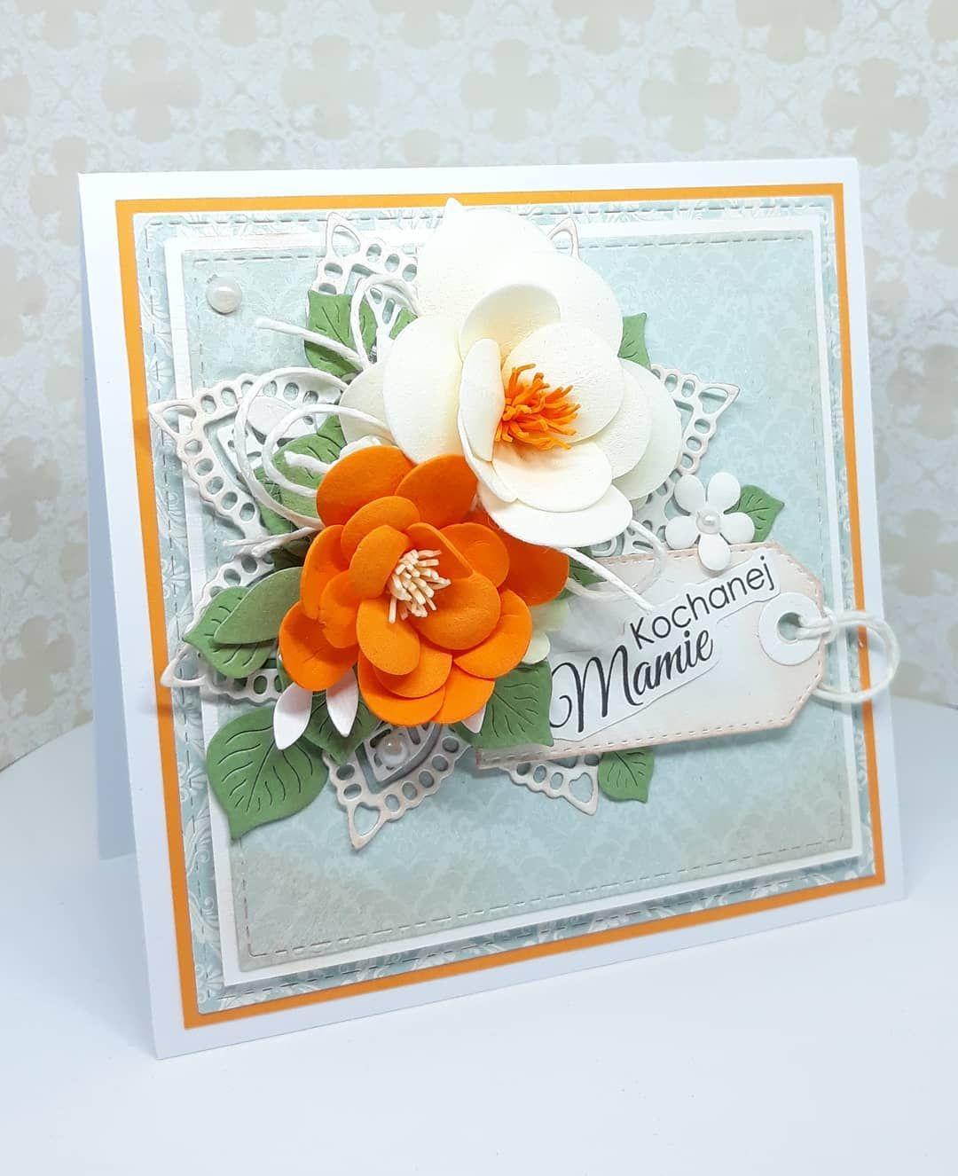 Dzien Matki Coraz Blizej Kartka Bedzie Milym I Prostym Prezentem Aby W Wyjatkowy Sposob Przekazac Zyczenia Bliskiej Sercu Osobie Flower Cards Cards Flowers