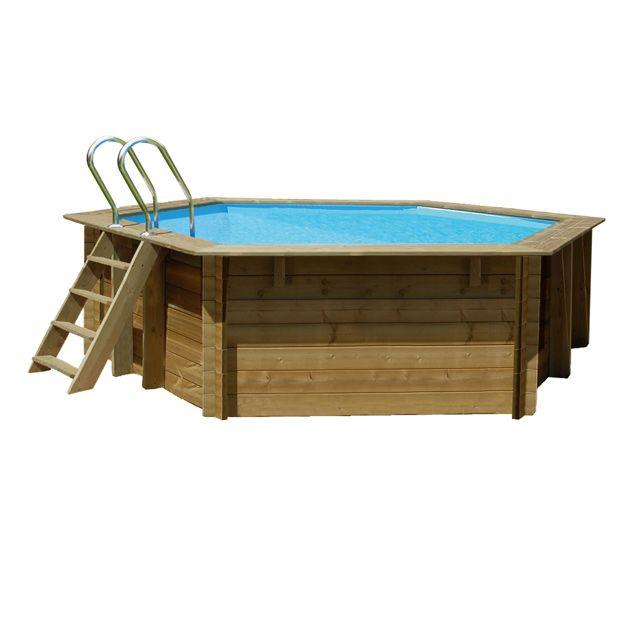 piscine en bois lunda 4 12 m bonnes affaires pas cher pinterest piscine bois bois et. Black Bedroom Furniture Sets. Home Design Ideas