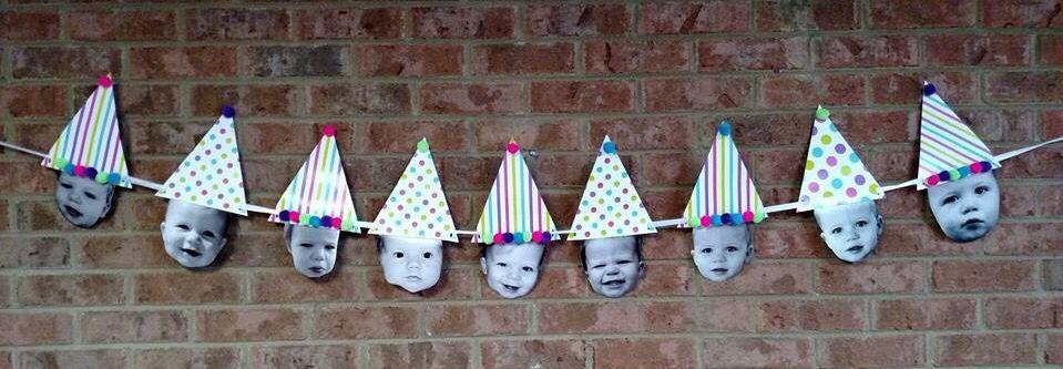 Birthday hat photos.