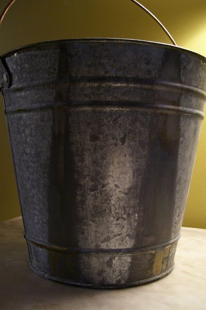 How To Age Galvanized Steel Diy Galvanized Buckets Aging Metal