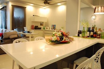 meridian design kitchen cabinet and interior design blog malaysia using a grey scheme - Malaysia Interior Design Blog