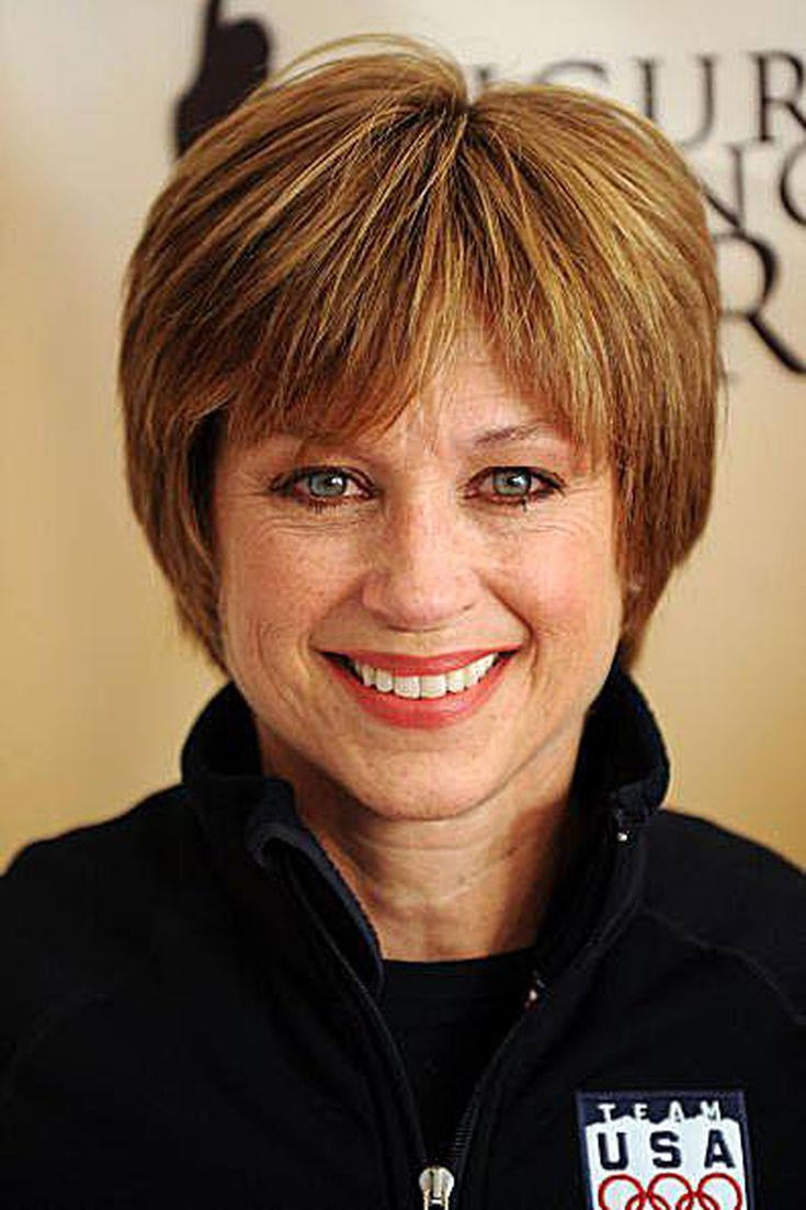 The Practical Side Of Skater Dorothy Hamill S Famous Wedge Haircut Wedge Haircut Short Wedge Hairstyles Wedge Hairstyles