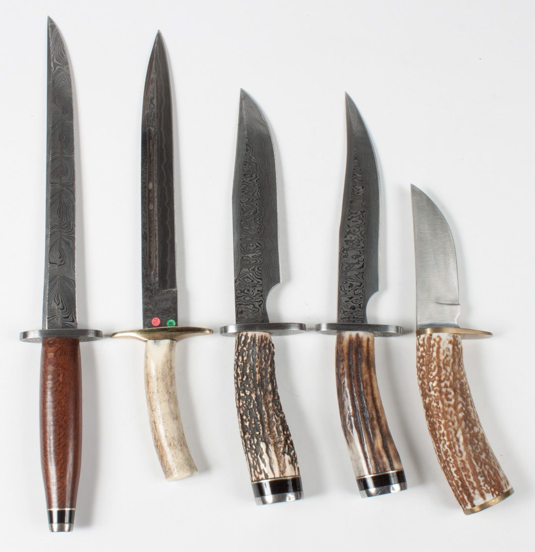 Damascus Steel Blades & Others