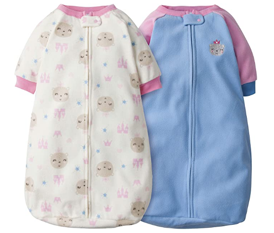 Gerber Baby Girls 2 Pack Sleep Bag In 2020 Premie Baby Clothes Baby Pajamas Baby Girl Clothes