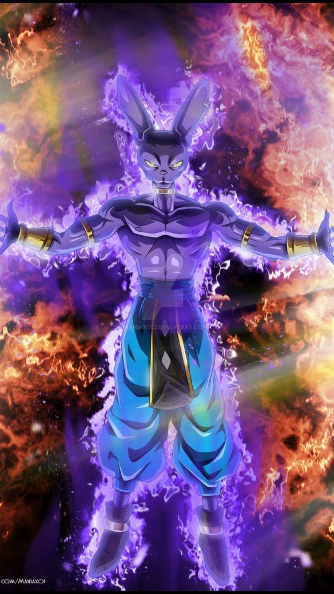 Bills Sama Full Power Goku Desenho Dragoes Anime