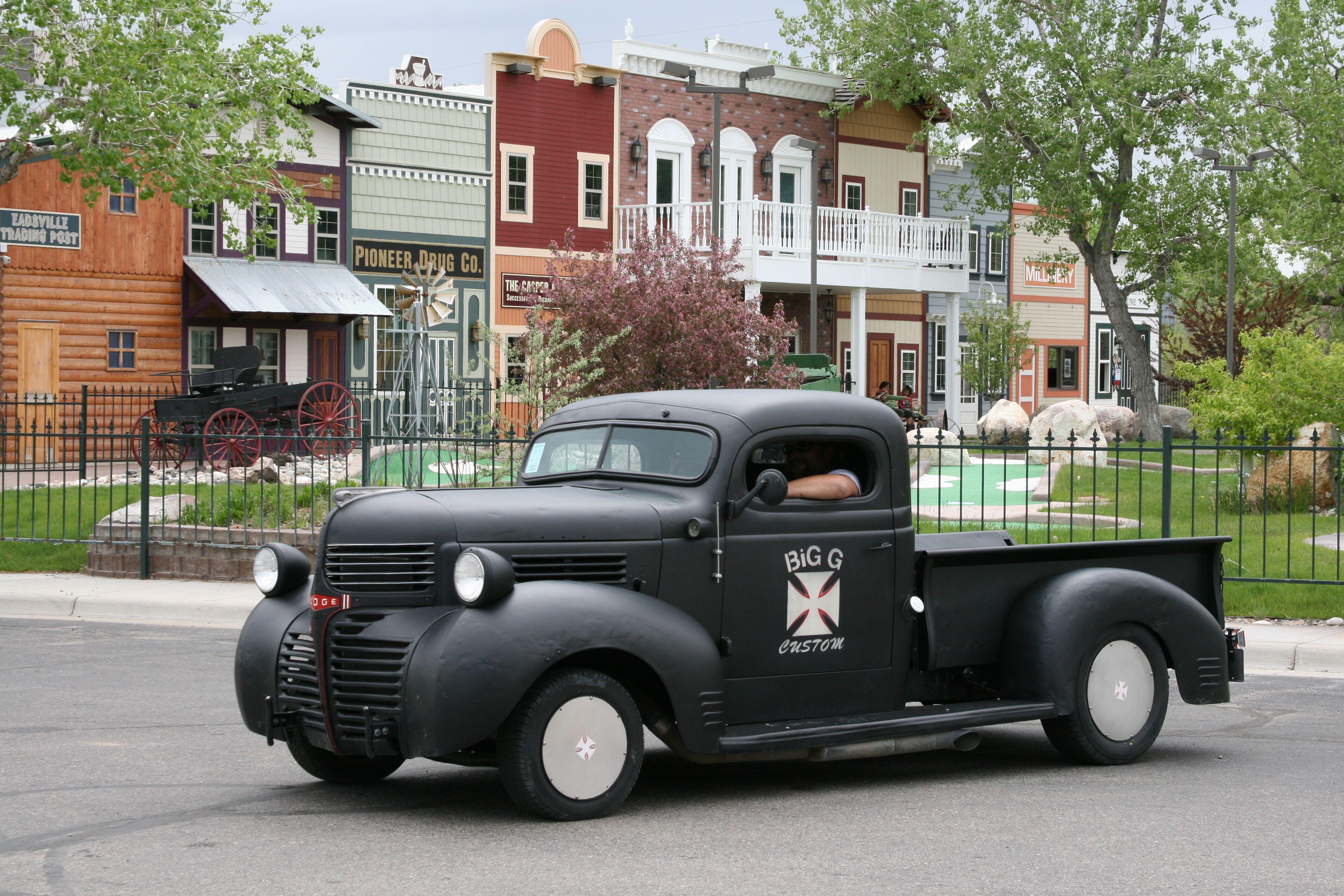 Buy Used 1946 Dodge 12 Ton Step Side Pickup Truck Hot Rat Rod Like 1949 D100