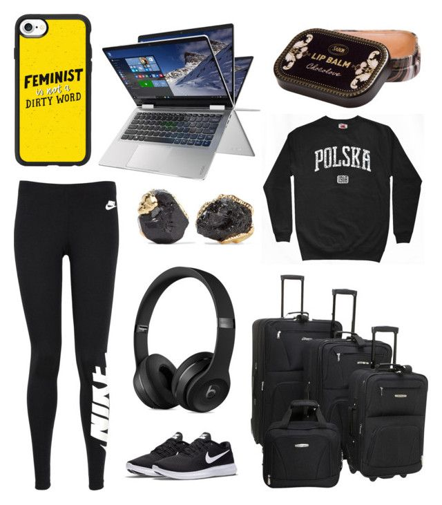 huge selection of 83b91 e2bd7 Lil by lilabeth on Polyvore featuring polyvore мода style NIKE Rockland  Luggage Dara