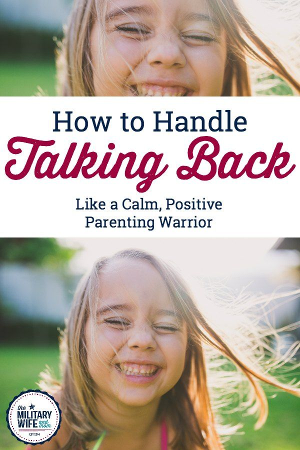 Wondering how to handle back talk using positive parenting strategies? These are my 3 must-try tips to stop talking back and stop disrespectful behavior.