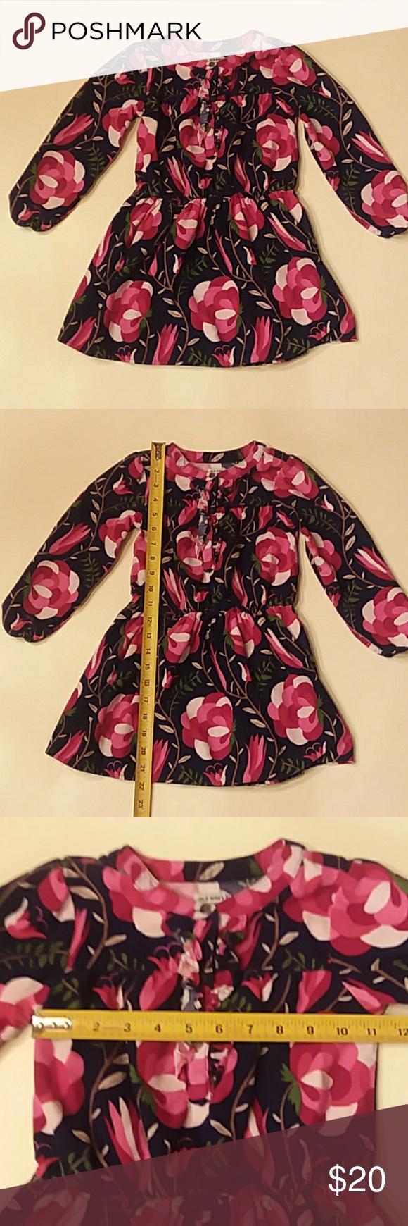 Old Navy 5t Pink Floral Corduroy Long Sleeve Dress Old Navy Size 5t Pink And Navy Blue Floral Corduroy Long Sl Long Sleeve Dress Kids Dresses Colorful Dresses [ 1740 x 580 Pixel ]