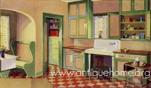 1930 kitchen design. 1930\u0027s Kitchen.....I Really Wonder What The Original Kitchen In My 1930 Design O