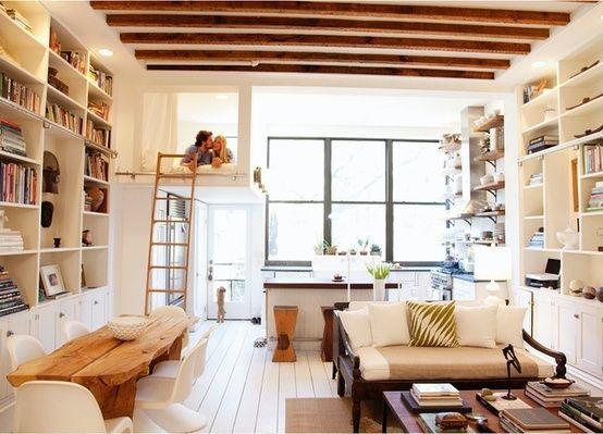 Wohnideen Apartment maximum nutzen vom raum im kleinen apartment wohnideen