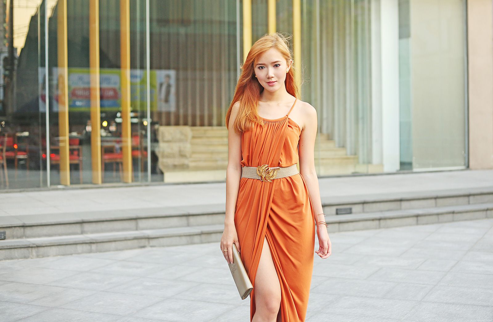 Style Staple High Slit Dress By Camille Co