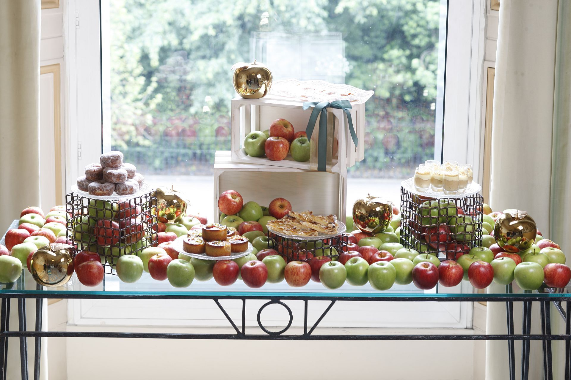 Apple Break at the Great Room enjoy at The Shelbourne Hotel as a