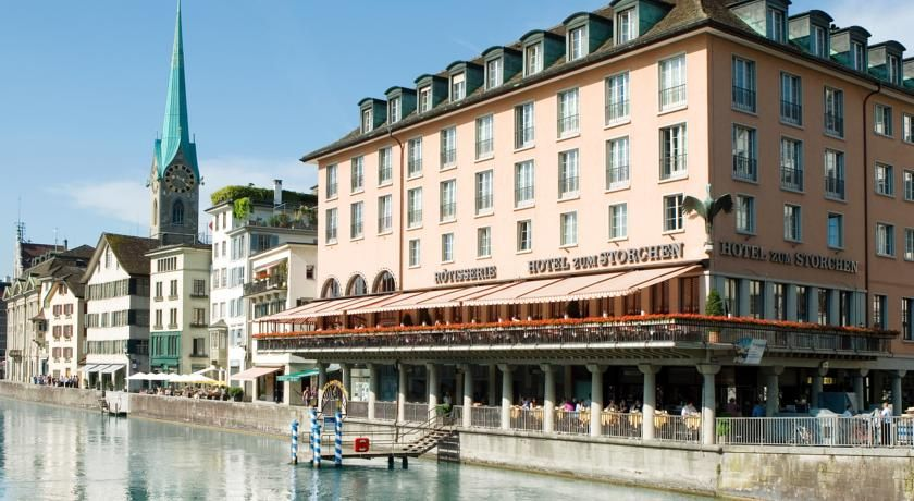 Hotel Storchen 4 Star Hotel 357 Zurich Old Town City Center