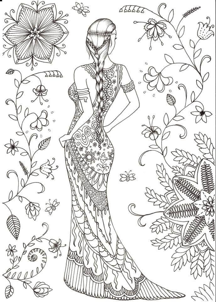 Pin von Ann Zhukovskaya auf Batik   Pinterest   Ausmalbilder ...