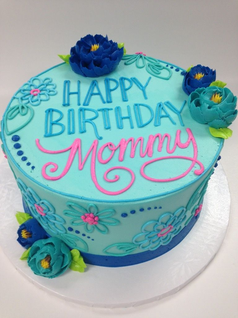 Classic Mommys Birthday Cake Pinterest Birthdays Cake and