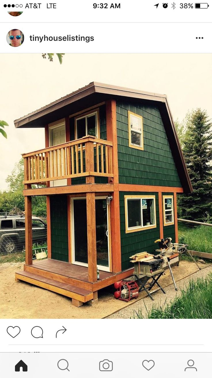 Awesome tiny house from Instagram... - #Awesome #house #Instagram #Tiny #tinyhousebathroom