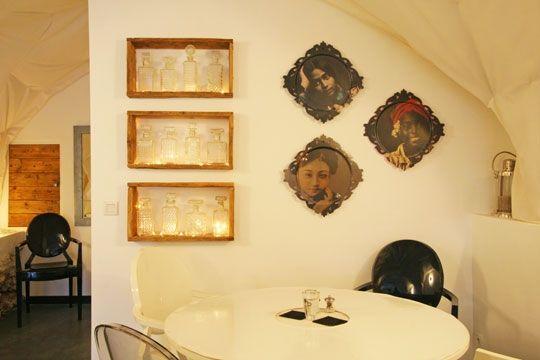 collection de carafes