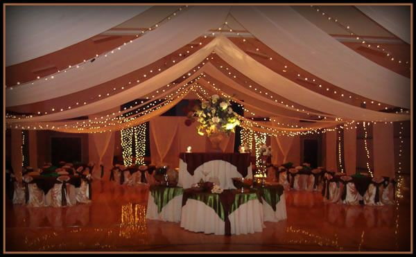 Decorating Ideas For Wedding Halls: Super Elegant Cultural Hall Wedding Decorations