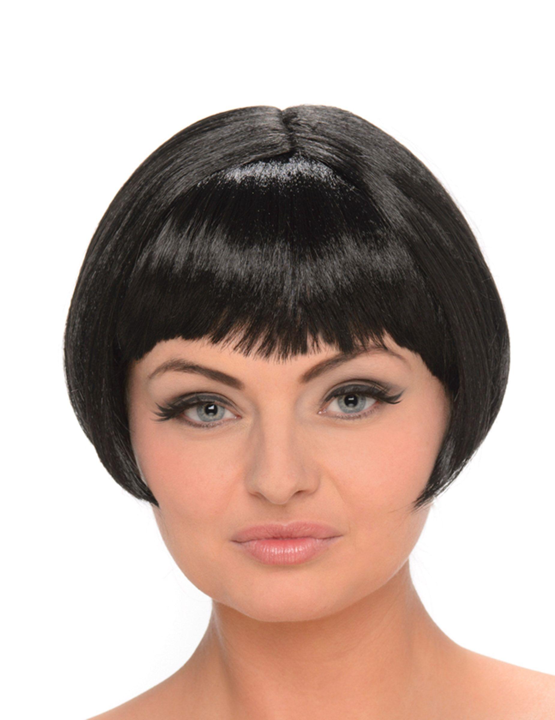 Cheveux Carre Court avec perruque brune carré court femme | carrés courts, perruque et