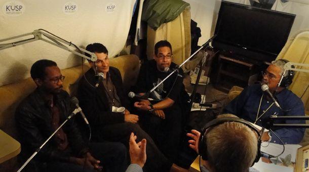 KUSP Interview: Brian Blade, Danilo Perez and John Patitucci. 56th Annual Monterey Jazz Festival. Photo: © Stephen Laufer / KUSP