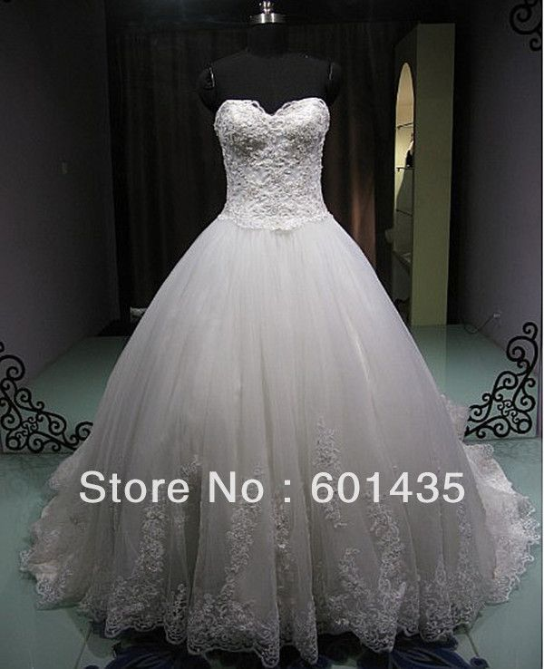 Aliexpress Com Buy Sl 82 Sweetheart Bling Bridal Gowns: Find More Wedding Dresses Information About Freeshipping