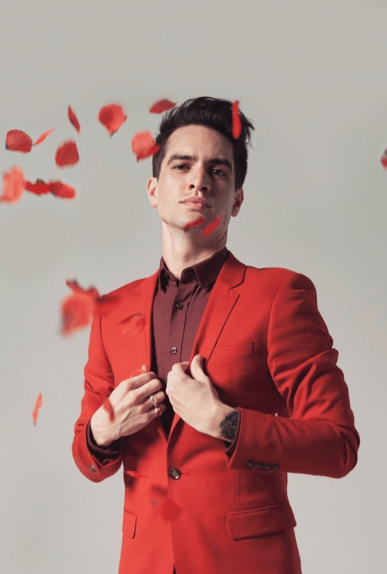 Brendon Urie Normal Forehead