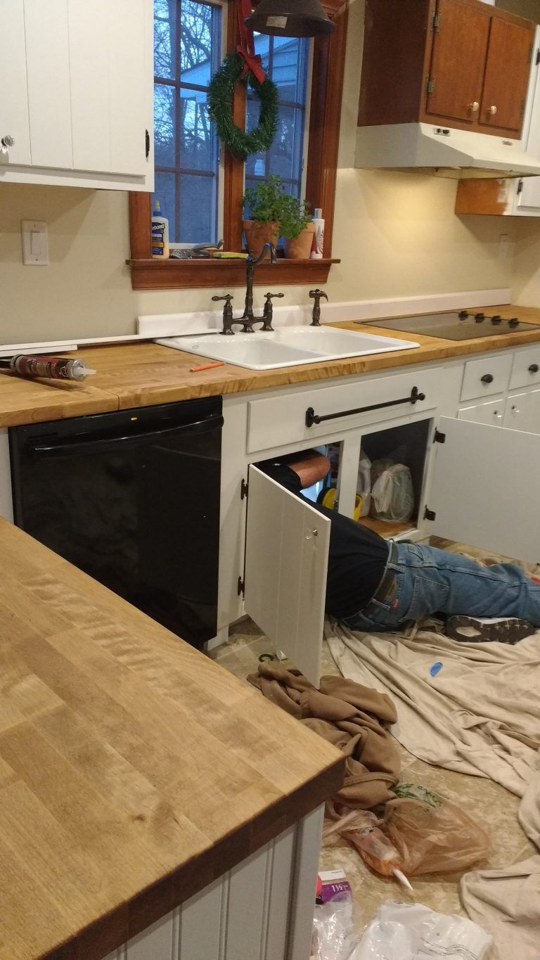 Sealing Butcher Block Countertops With Dark Tung Oil A Food Safe