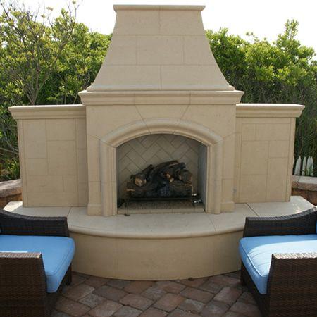 American Fyre Designs Grand Phoenix Black Lava Fireplace