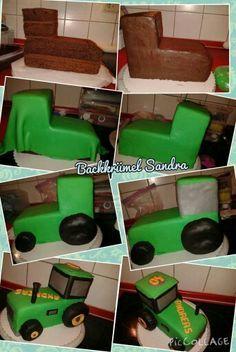 Traktor Torte Traktor Geburtstagskuchen Traktor Torte Kuchen Kindergeburtstag Traktor