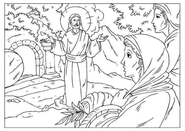 jesus auferstehung ausmalbilder #auferstehung #