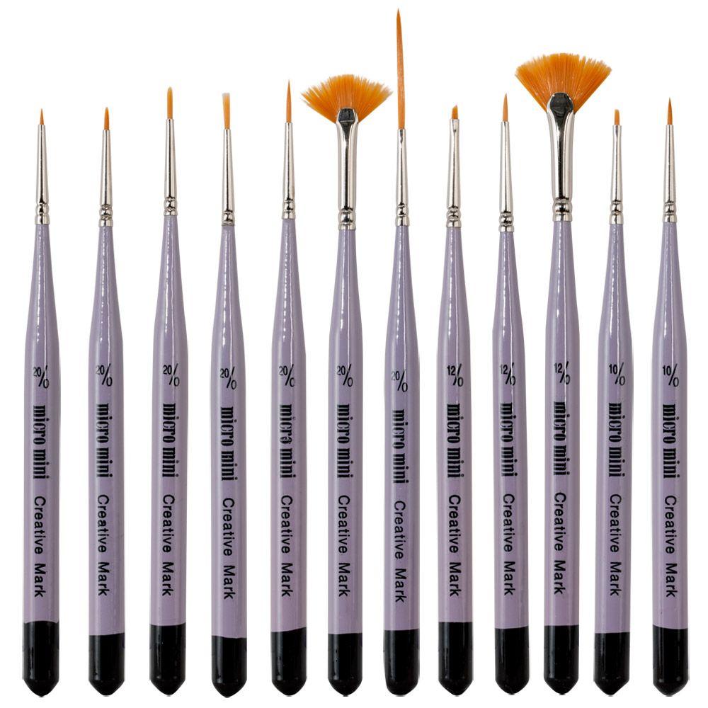 Micro Mini Brushes - JerrysArtarama.com | Art / Artist / Artistic ...