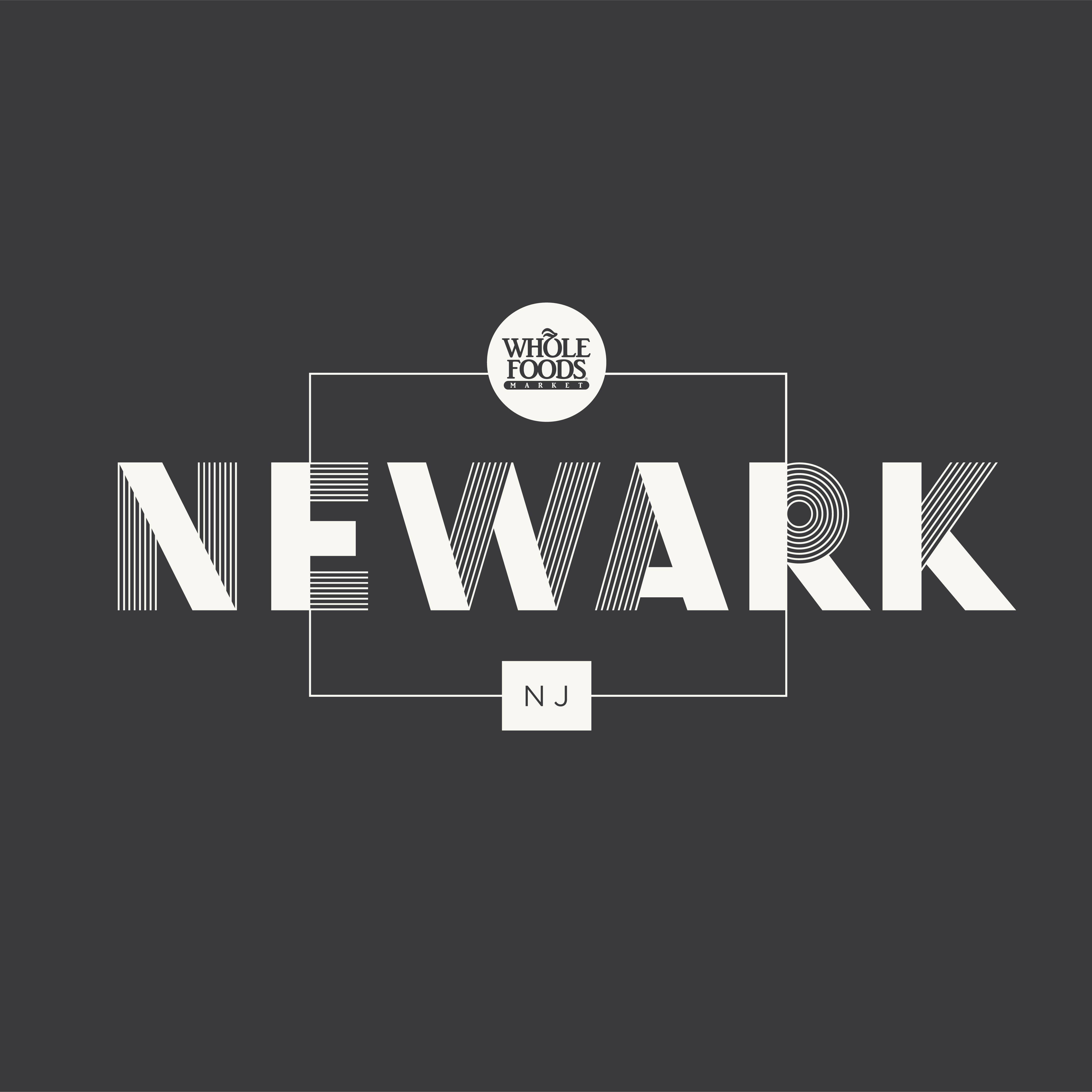 Whole Foods Market Newark Lettering Letter Form Logo Design