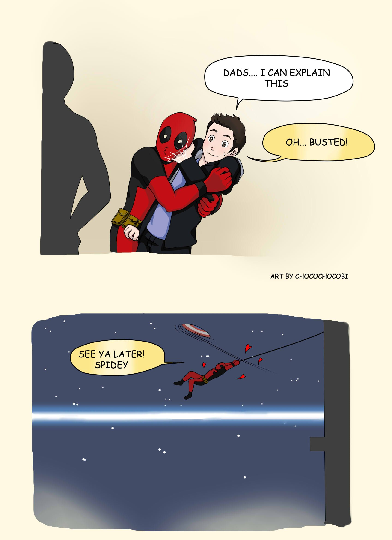 Deadpool Spiderman And Spideypool Image
