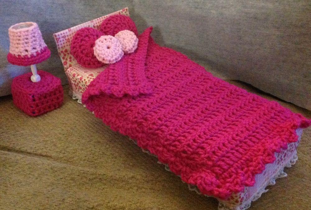 Barbie Blythe Monster High Bedroom Furniture 7 Piece Set