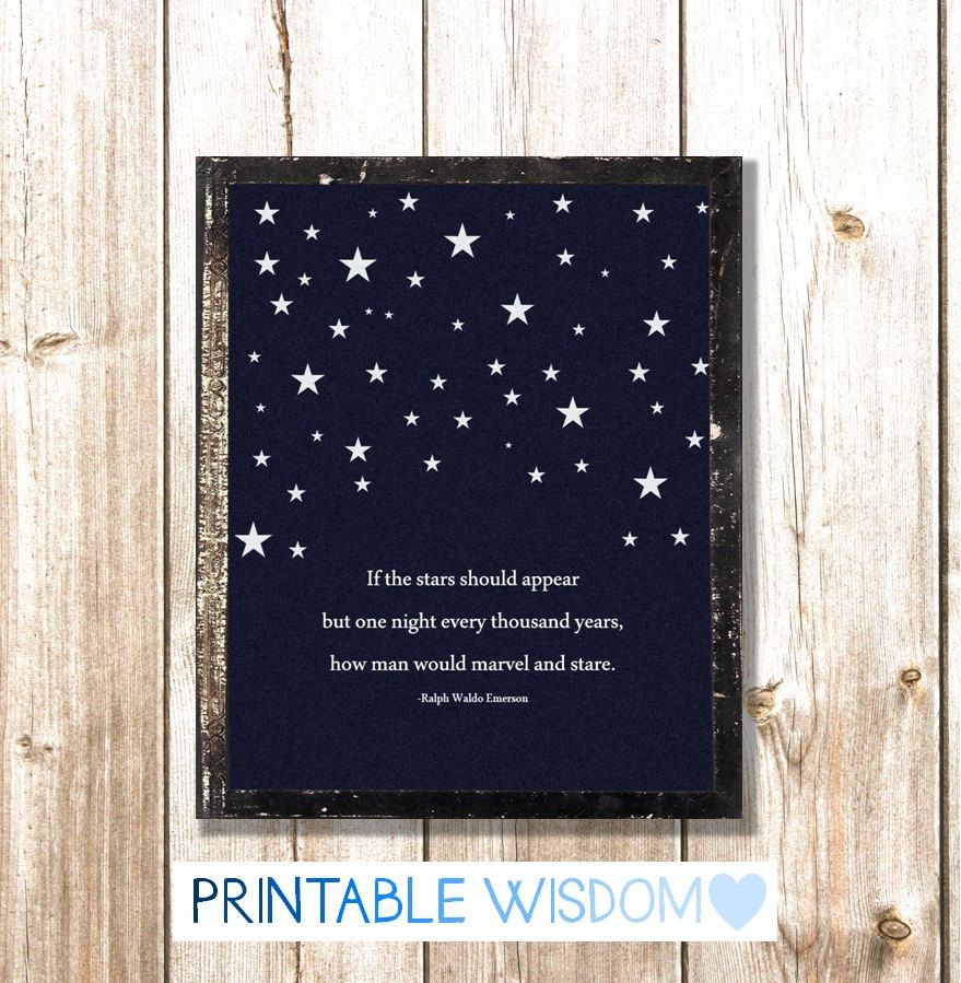 INSTANT DOWNLOAD Quote Print Wall Art, Printable Poster