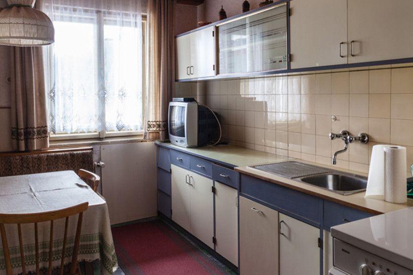 Der blanke Küchen-Albtraum: Geräte aus Vorkriegszeiten. Schränke zum ...